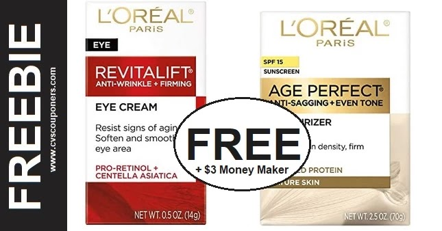 FREE L'Oreal Paris Skin Care CVS Deals
