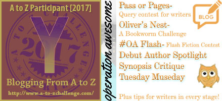 #AtoZchallenge 2017 Operation Awesome Yes, You Can Run an Effective Book Blog Tour