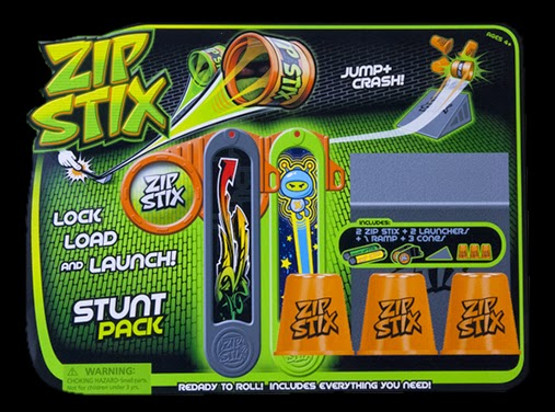 Zip Stix Stunt Pack Review