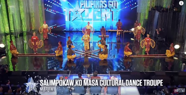 'Ground Zero' Survivors Of Marawi City  Impressed The PGT Judges With Their 'Singkil  Dance'!