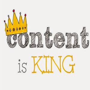 what is content, content is king
