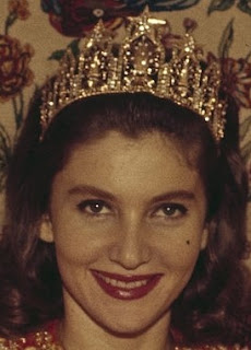 diamond gold star tiara morocco princess lalla lamia solh