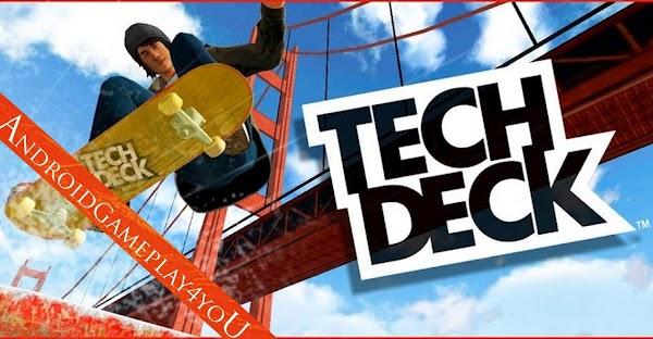 Tech Deck Skateboarding 2.1.1 Apk + Mod (Money/Gold)