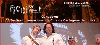 Ganadores del 58 Festival Internacional de Cine de Cartagena de Indias