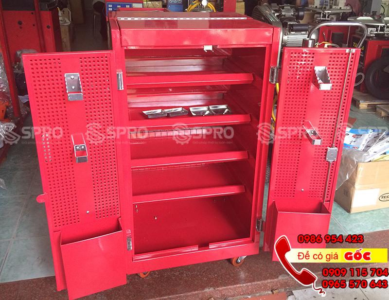 Tủ đồ nghề 5 ngăn, tủ kéo 5 ngăn đựng dụng cụ giá rẻ tp HCM