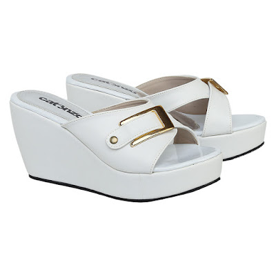 Sandal Wedges Wanita Catenzo JK 543