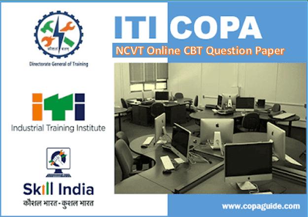 ITI COPA NCVT NSQF-4 EXAM Paper SEM 1,2 Jan 2018