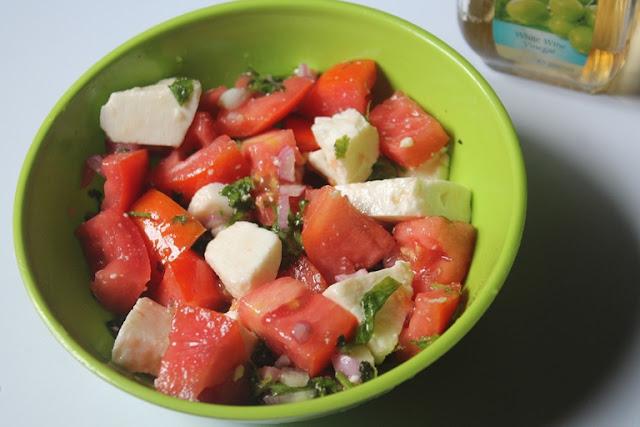 Ina Garten's Tomato Feta Salad Recipe