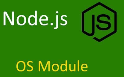 Node.js os module