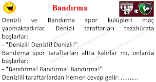 Bandırma - Spor Fıkraları - Komikler Burada