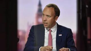 UK health secretary Matt Hancock apologised  for violating Covid-19 related national restrictions