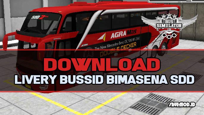 Download Livery Bussid Bimasena SDD HD Keren & Terbaru 2019