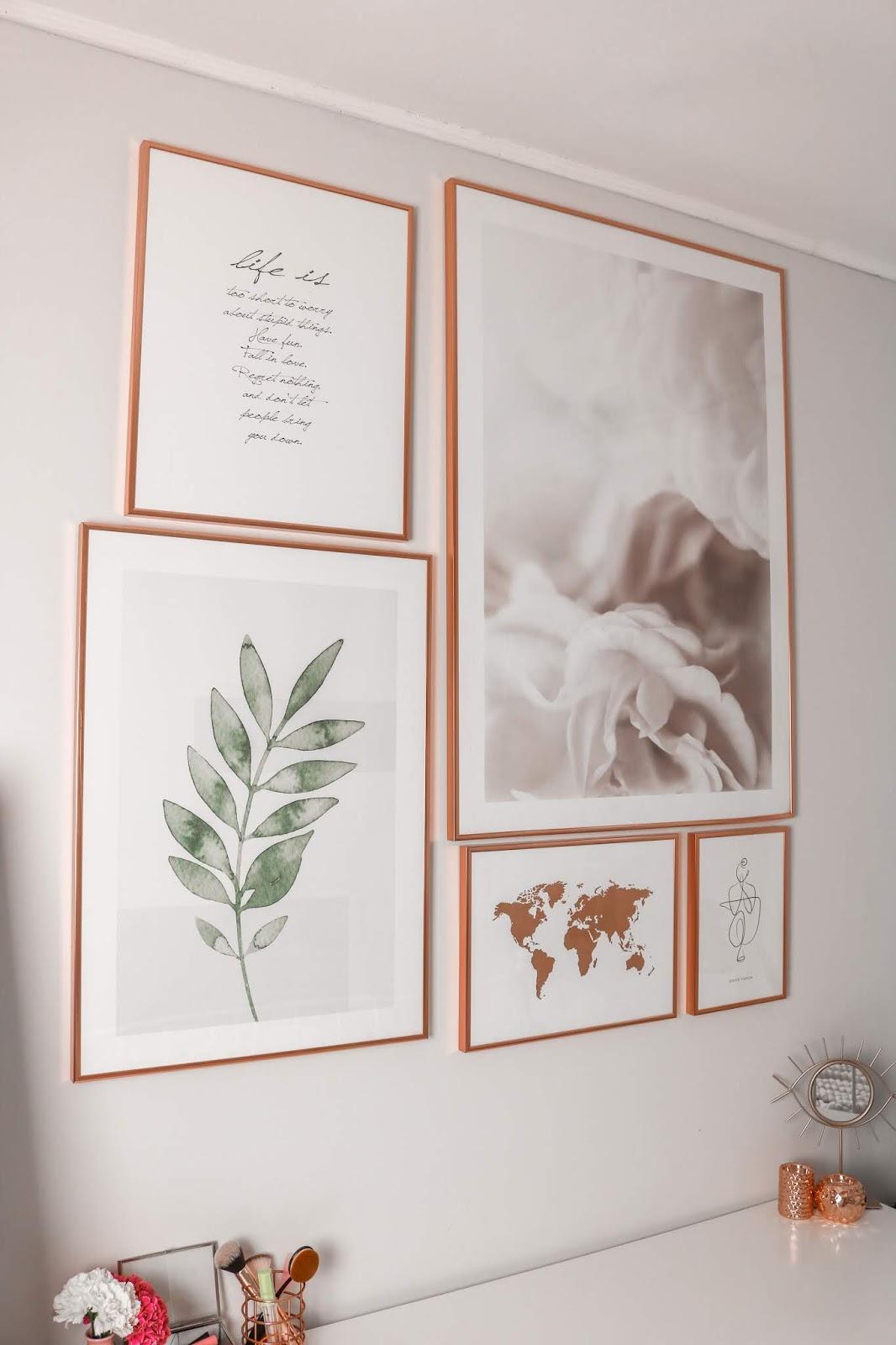 Odmieniam ściane plakatami | DESENIO + kod rabatowy