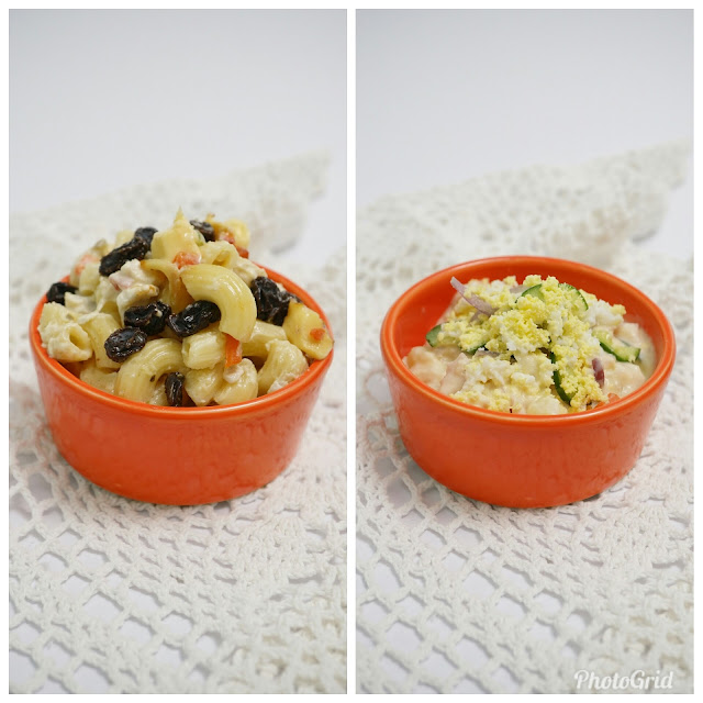 FamilyMart Chicken Macaroni Salad and Potato Salad
