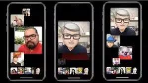 اجراء المكالمات الجماعية على FaceTime