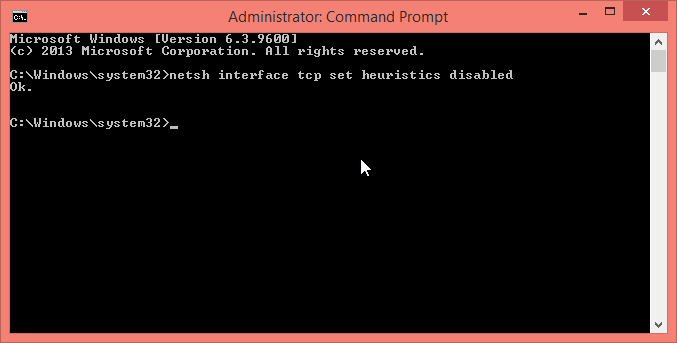 Use Netsh Interface Commands