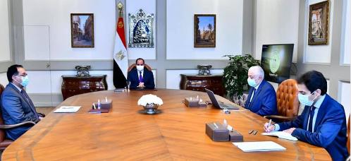 اجتماع الرئيس مع وزير التربية والتعليم
