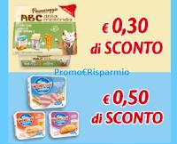 Logo Parmareggio coupon da stampare : ABC e Teneroni La Merenda