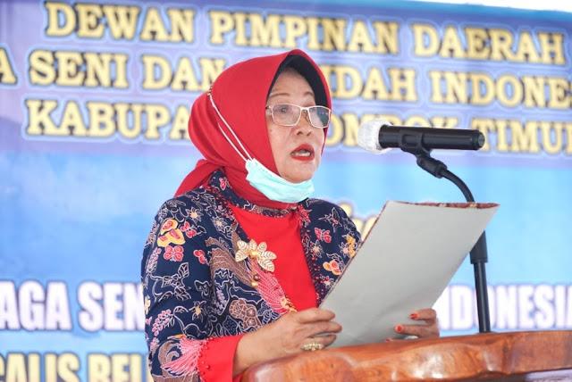 Qudsiah optimis Lasqi Lombok Timur akan jadi yang terbaik