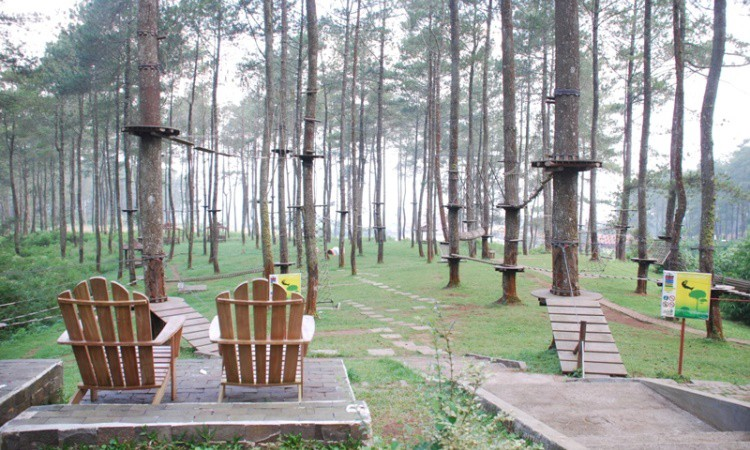 15 Tempat Outbound di Bandung yang Paling Seru