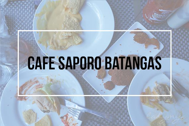 Cafe Saporo Batangas