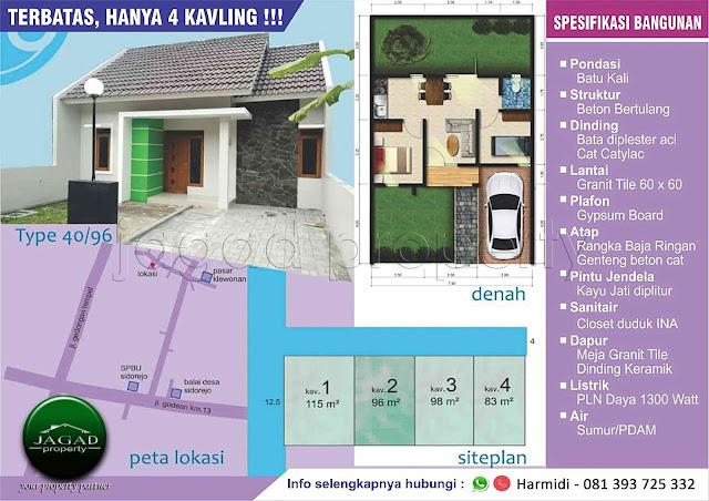 Rumah Minimalis jalan Godean Km 12