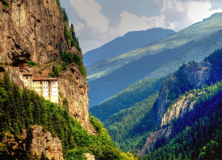 Sumela – a Monastery Carved Into a Mountain, Turkey
