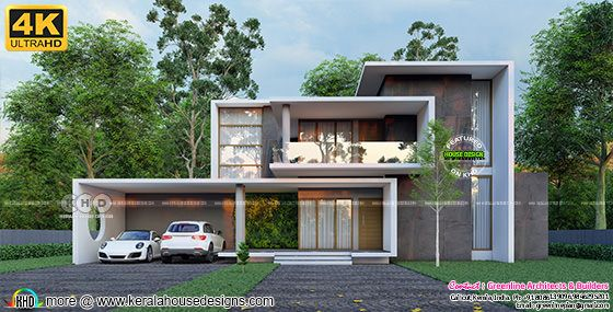 minimalist contemporary house lumion rendering