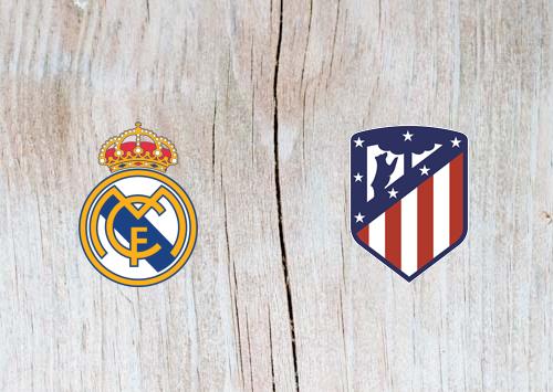 Real Madrid vs Atletico Madrid Full Match & Highlights 28 September 2018