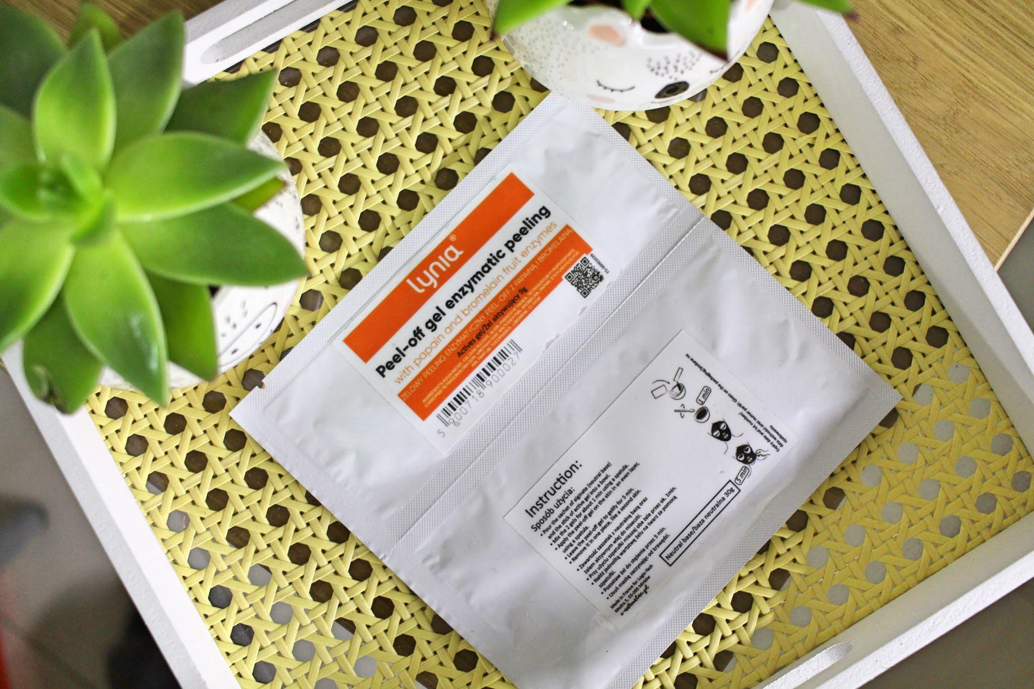 Lynia - Peeling Enzymatyczny z Owoców Tropikalnych w Żelu Peel-Off