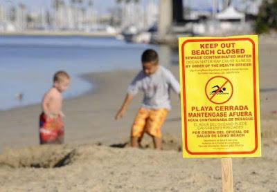 Pencemaran Air Laut Dari Tinja Manusia