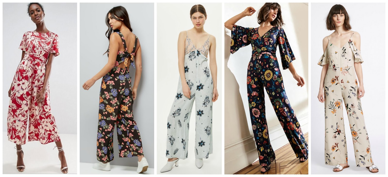Top 5 Jumpsuits For Summer: | Sarah-Rose Goes...