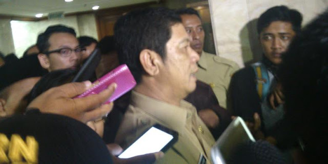 Wali Kota Jakarta Utara Rustam Effendi