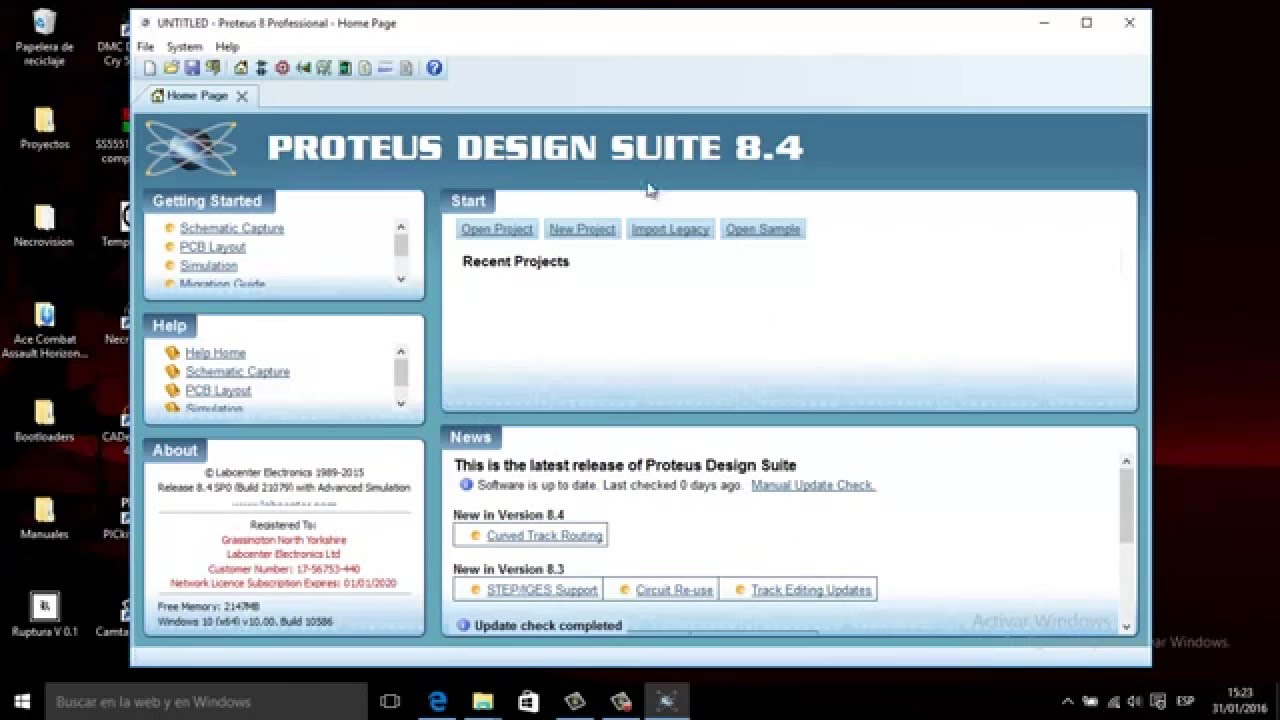 Free Download Proteus 84 Sp0 Professional Full For Electronic Design Software Image Courtesy Of Youtube