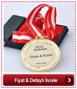 Sevgiliye Özel Madalyon