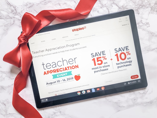 Staples Teacher Appreciation Event 2019