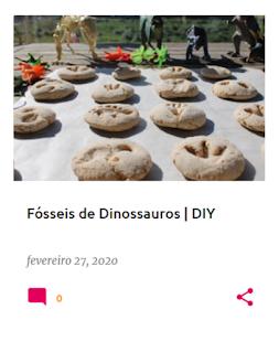 Fósseis de Dinossauro em massa de sal