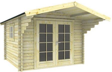 Interflex tuinhuis hout