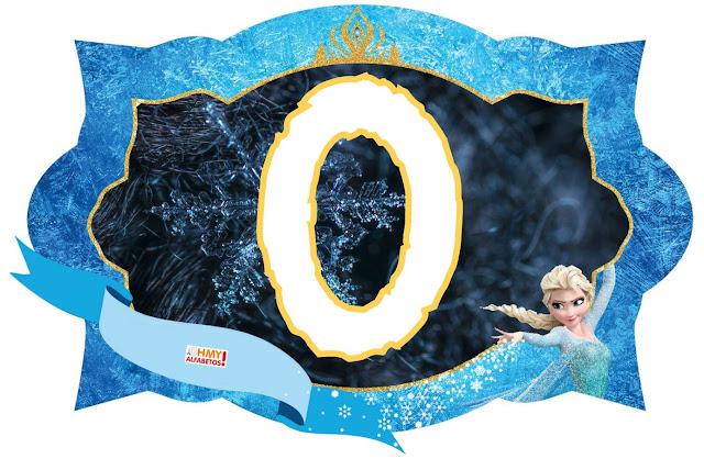 Abc Frozen. Frozen Letters.