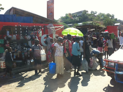 Sister Luke in Haiti