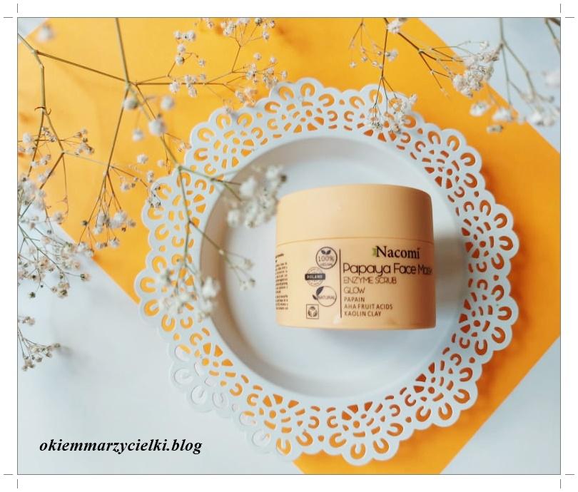 Maska Enzymatyczna Papaja, Nacomi- recenzja #144| Hit czy kit?!