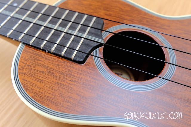 Kiwaya KTS-7 Soprano ukulele sound hole