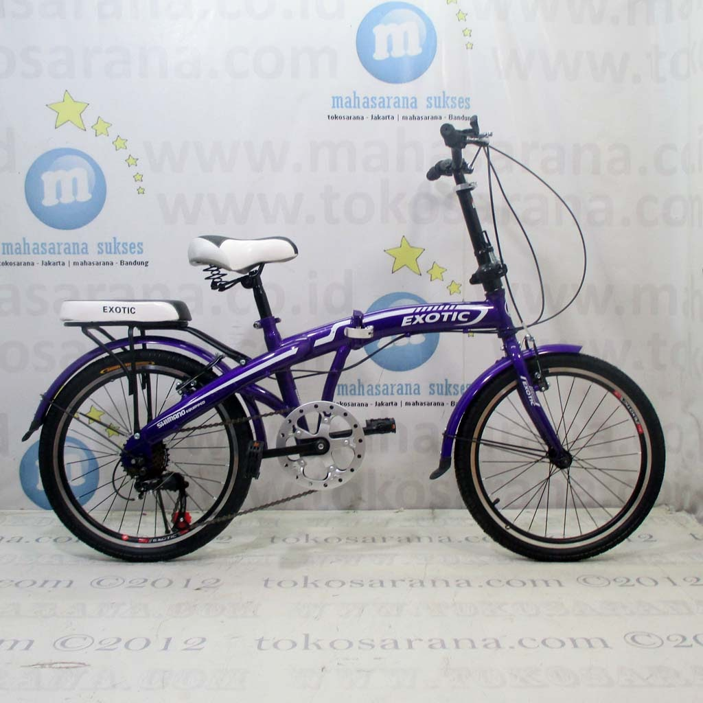 tokosarana™ Mahasarana Sukses™ Sepeda Lipat Exotic