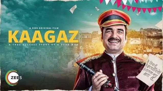 Kaagaz Full Movie – ZEE5 – Pankaj Tripathi