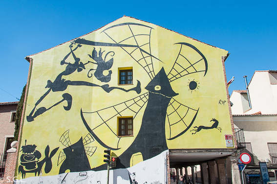 Mural de Alcala de Henares. Madrid