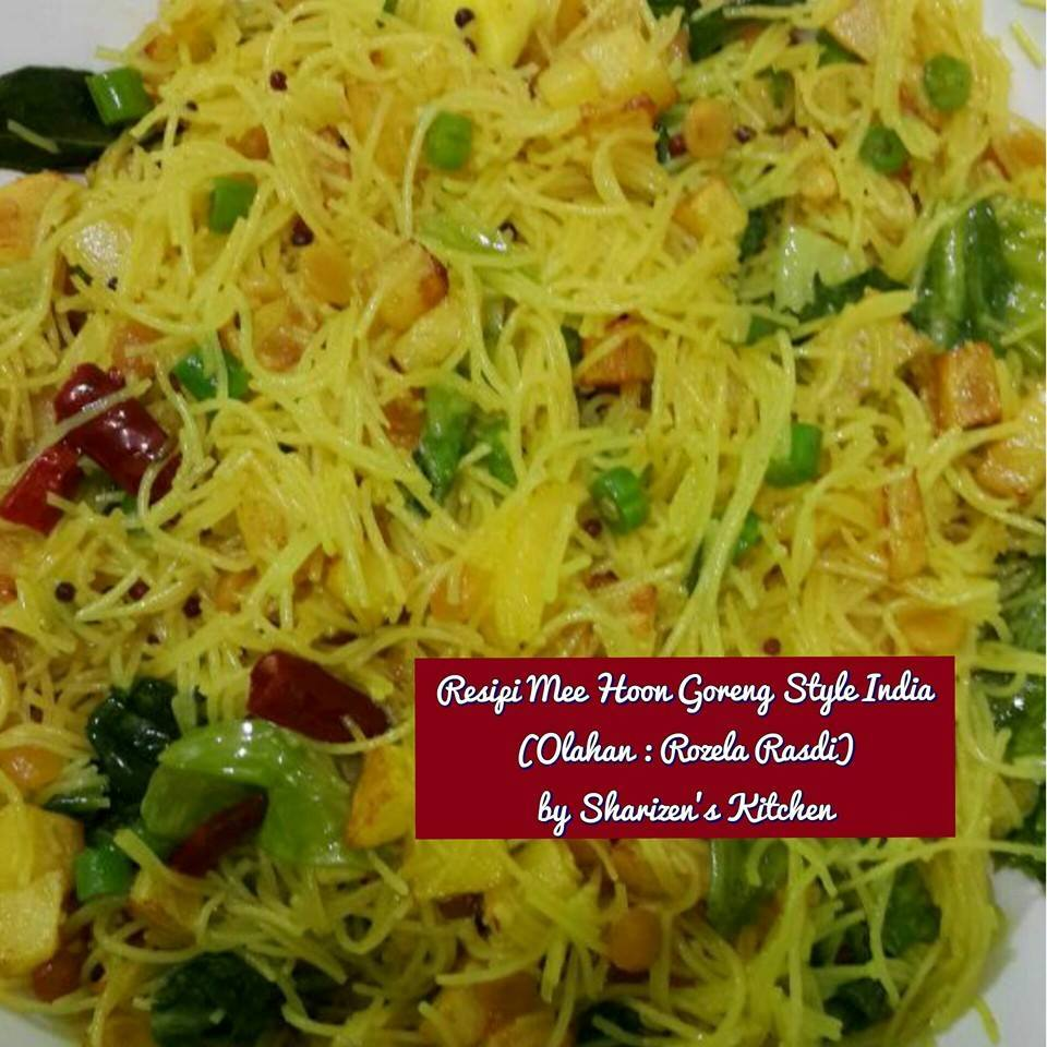 Sharizen Kitchen: MEE HOON GORENG STYLE INDIA