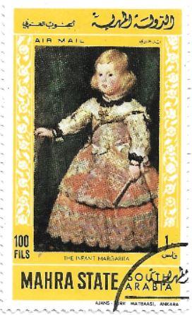 Selo A Infanta Margarita da Áustria