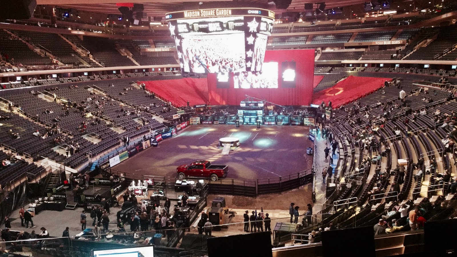 Sports Road Trips Buck Off At The Garden Pbr January 6 2017