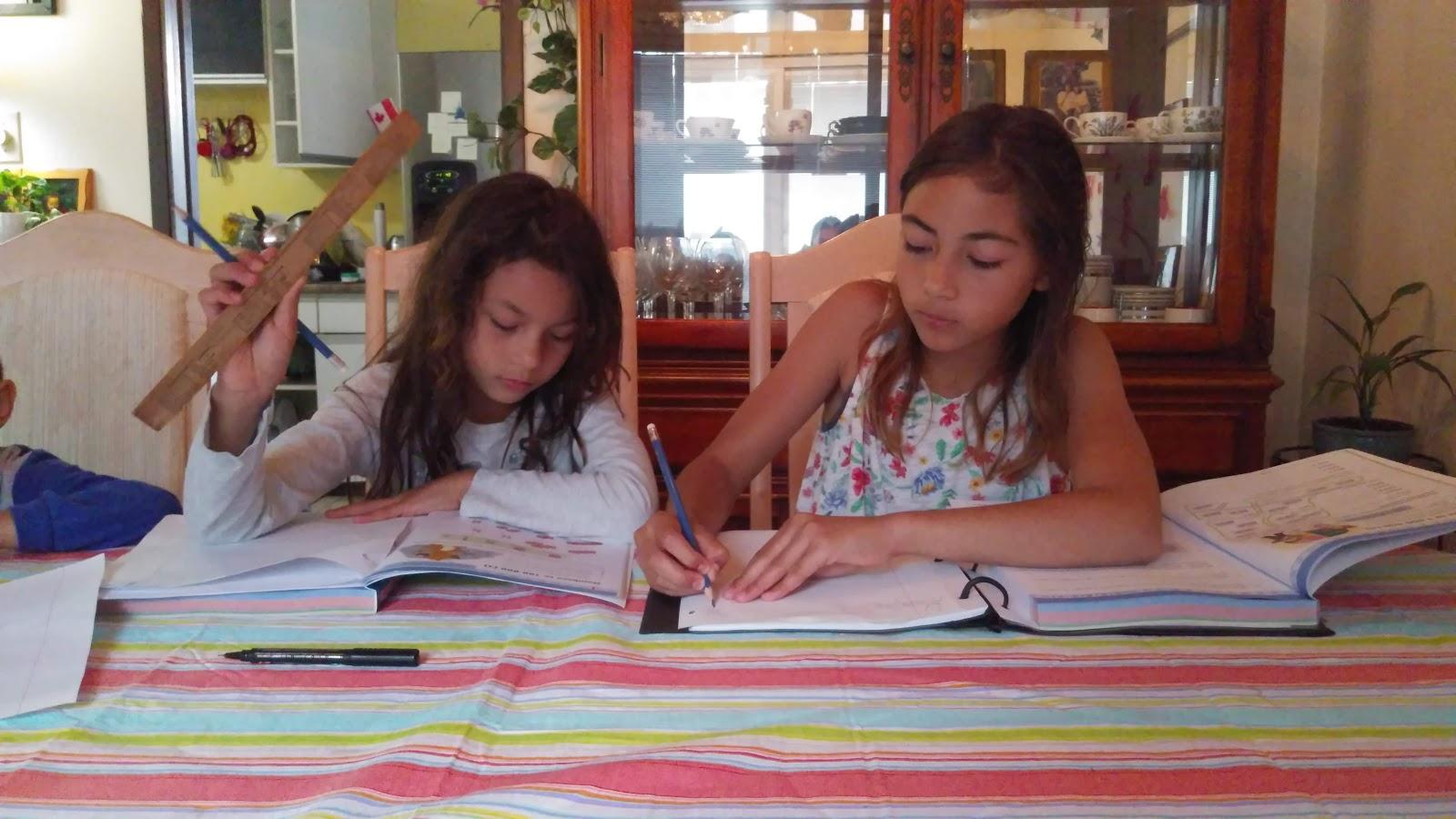 Home Schooling During Summer Break.