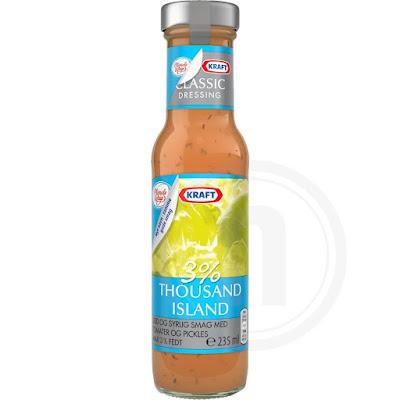 Vand, eddike, tomatpuré (10%), glucosesirup, sukker, pickles (5%), modificeret stivelse, rapsolie, salt, SENNEPSPULVER, fortykningsmiddel (E415), farve (E171), krydderier, aromaer, antioxidant (E385).